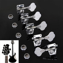 Vintage Jazz Precision Bass Tuning Pegs Open Tuner Bass Tuner Machine Head Bass Replacement Accessories Bass
