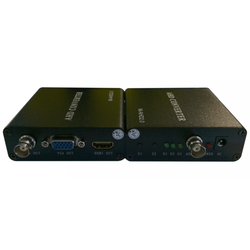 Image 4 - AHD to HDMI/VGA/CVBS HD video converter for high definition large screen LED digital LCD TV transmission data signal-in Computer Cables & Connectors from Computer & Office