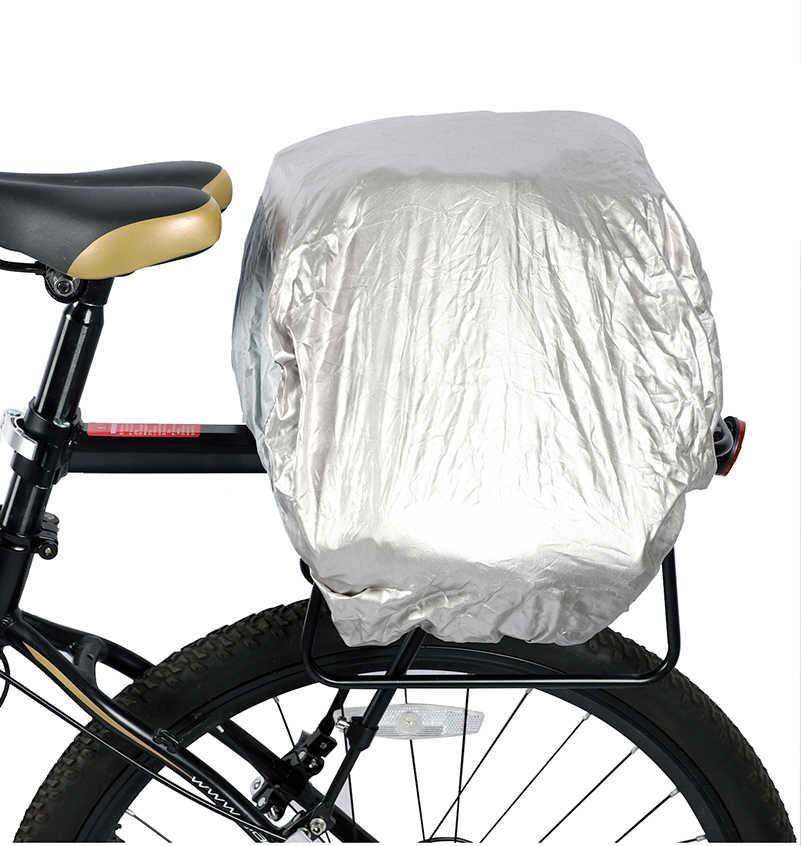 WEST BIKING Large Capacity Waterproof Bicycle Tail Bags Bike Rear Pannier