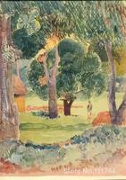 paintings of Paul Gauguin Watercolor 24 artwork Landscape art High quality Hand painted