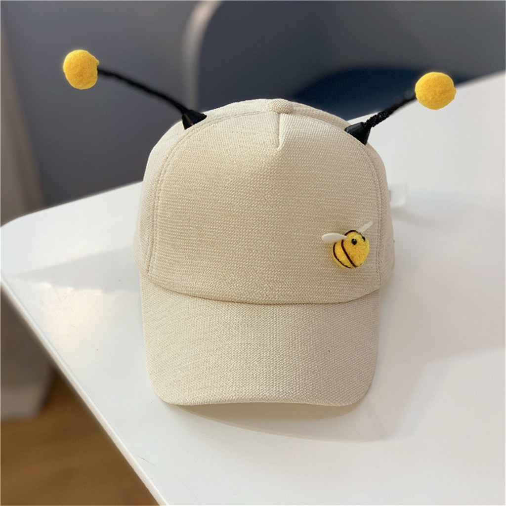 Men's Baseball Caps Men's Hats Baseball Cap Children Summer Polo Litter Bee Cute Caps Baseball Sun Pony Adjustable Hat Antenna Sombrero Special Summer Sale
