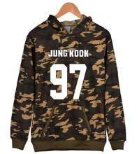 BTS Camo Hoodie (8 models)