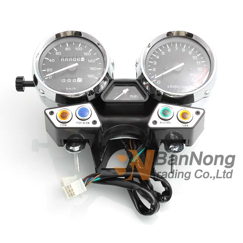 Motorcycle instrument assembly gauges meter cluster speedometer odometer tachometer for XJR XJR 1992-1997