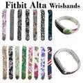 24 Colores Gráfico Reemplazo Fitbit Alta Pulsera Banda de Silicona Reloj Pulsera de DIY Grande y Pequeño Fitbit Alta Banda De Deportes