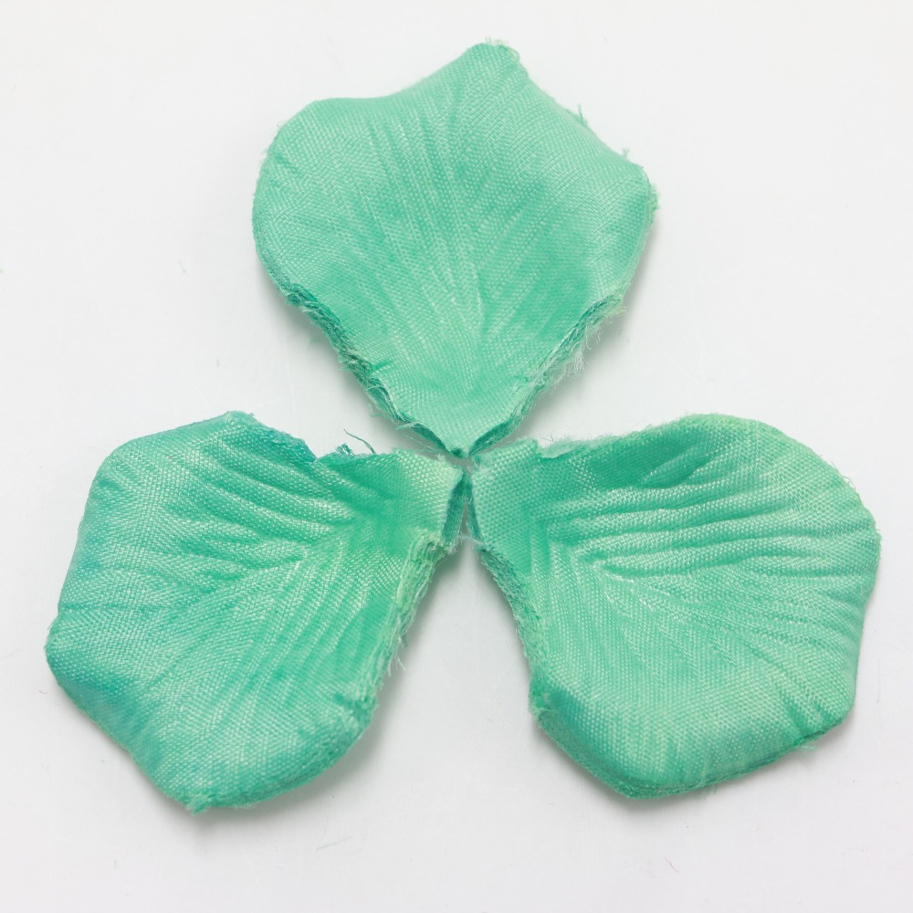 Table confetti decoration silk rose petals tiffany blue fabric table confetti decoration silk rose petals tiffany blue fabric artificial flower petals wedding birthday party petale de rose in artificial dried flowers izmirmasajfo