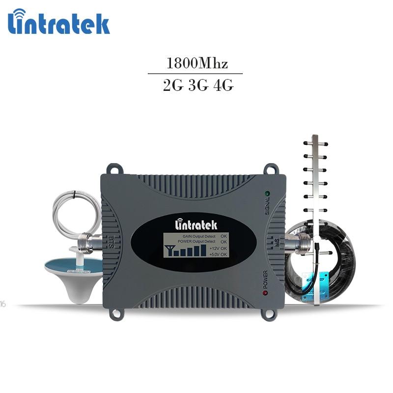 Lintratek 4g lte signal booster dcs 1800 mhz répéteur gsm 4g mobile signal répéteur 1800 mhz cellulaire signal amplificateur Bande 3 #6