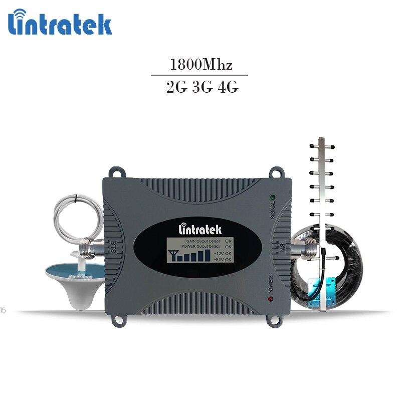 Lintratek 4g lte sinal de reforço 4g móvel repetidor de sinal dcs 1800 mhz repetidor gsm 1800 mhz sinal de celular amplificador Banda 3 #6