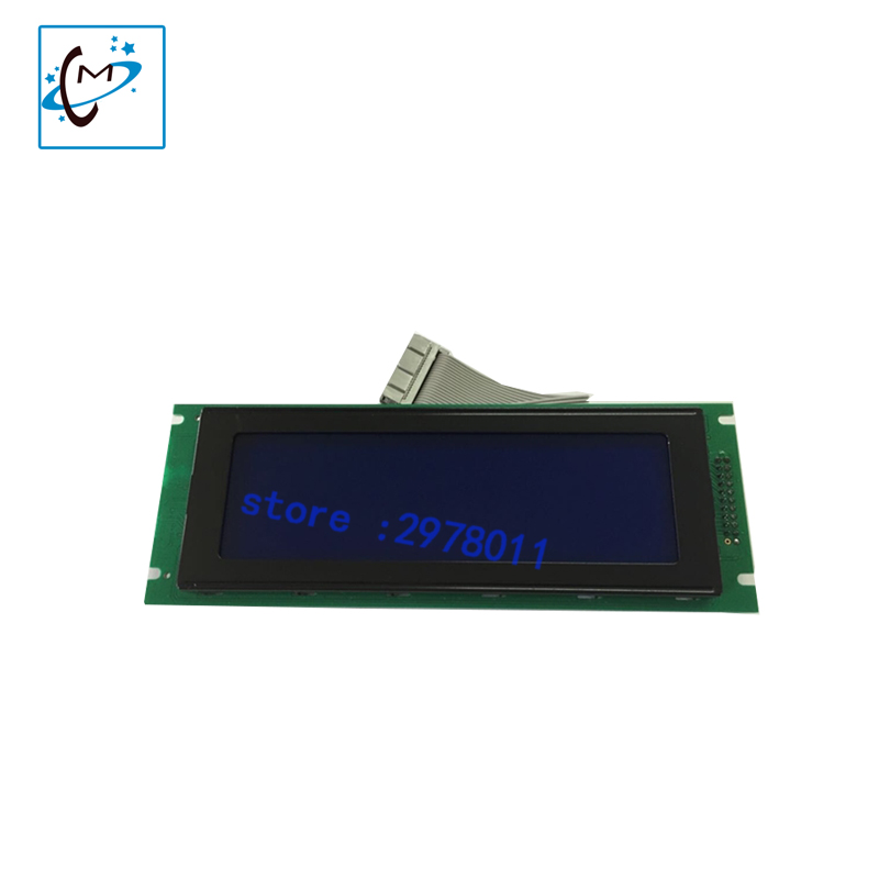 Hot sale !!! Encad Novajet 750 LCD screen for indoor piezo photo printer screen spare part best price mimaki jv33 jv5 ts3 ts5 piezo photo printer encoder raster sensor with h9730 reader for sale 2pcs lot