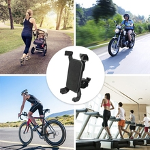 Anti-Slip Universal 360 Rotating Bicycle Bike Phone Holder Handlebar Clip Stand Mount Bracket For Cellphone