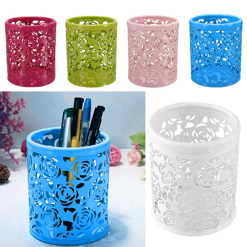 Home Office Storage Home & Garden Whism Pen Holder Cosmetic Pencil Ruler Makeup Brush Pot Holder Container Desk Storage Office Organizer Gift For Kids Child Handsome Appearance