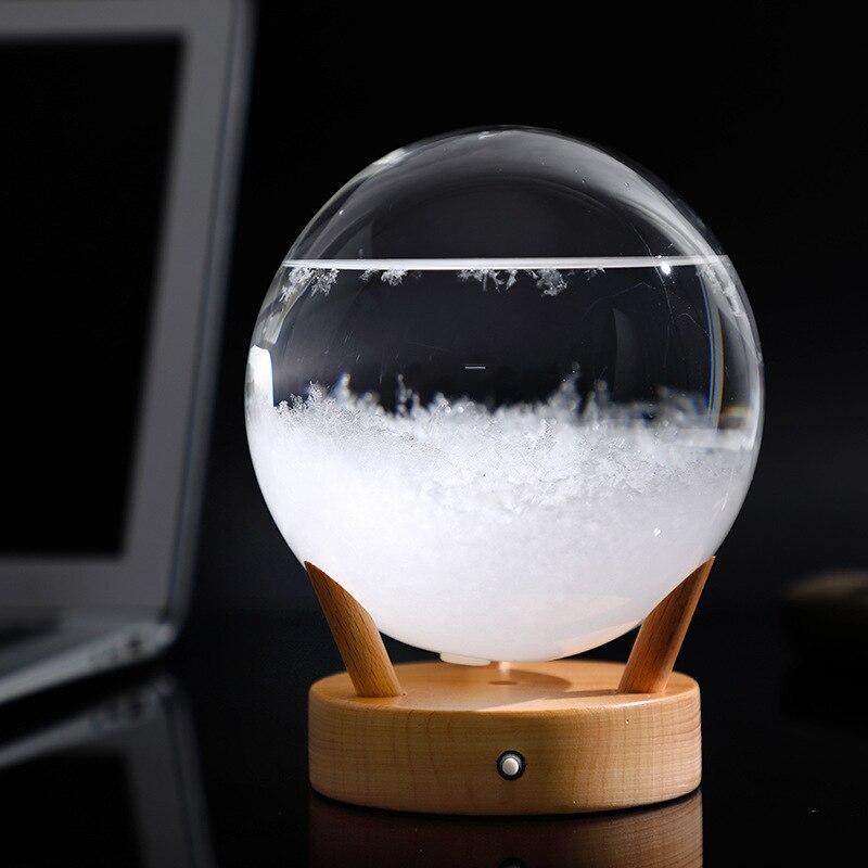 New style weather forecast bottle, DIY storm bottle glass crafts, Nordic ornaments wishing bottle weather bottle