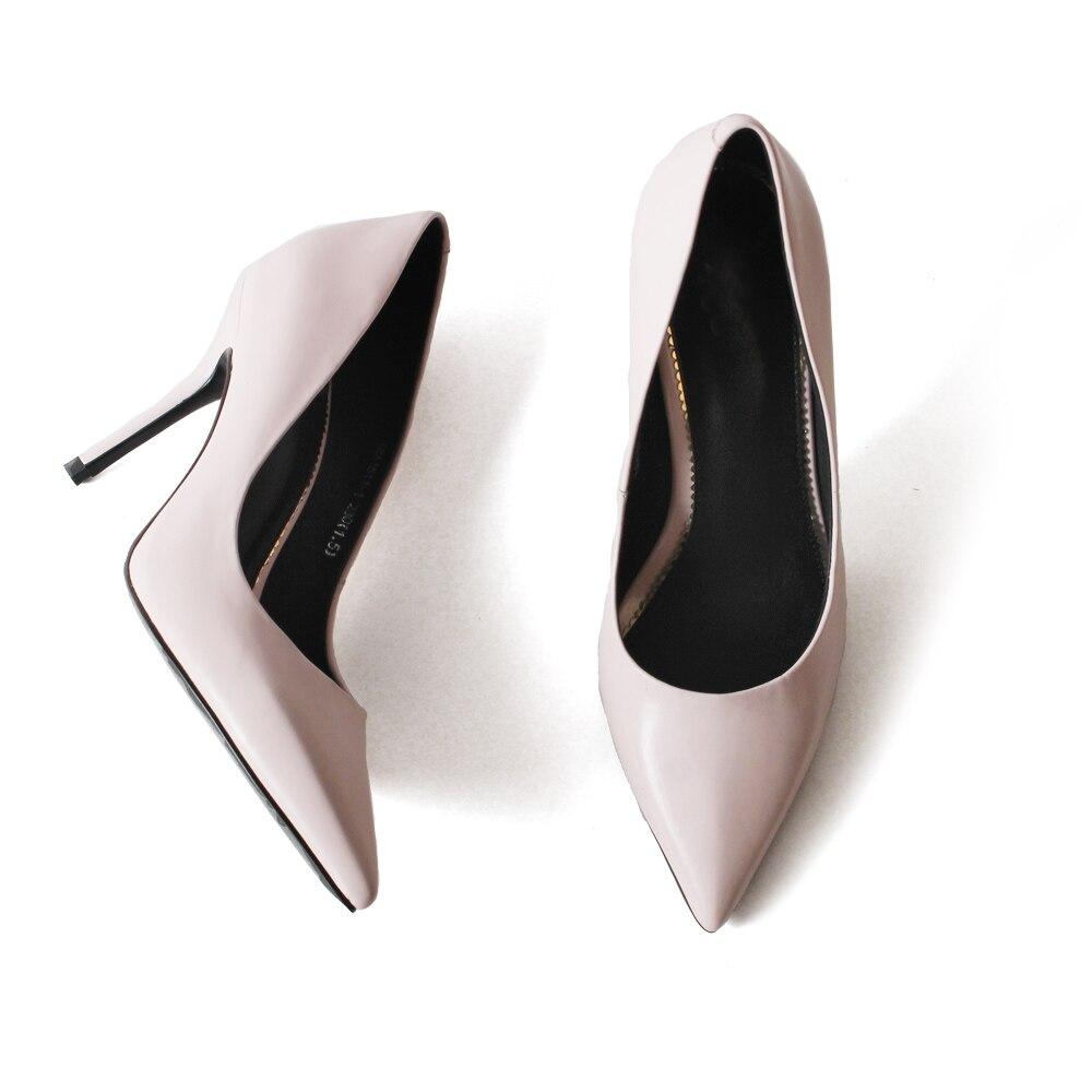 Dames Pink Zapatos Bout De Pour Mujer 2019 D'été Pompes Talons Pointu D'affaires Vikeduo Mode Partie Cm Sapato Rose 9 Nouvelle Hauts Femmes Chaussures Mariage A0S7gxw