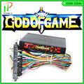 2016 New JAMMA arcade multi game board GOD OF GAME 900 in 1 arcade game PCB VGA output with 28pin wire jamma loom