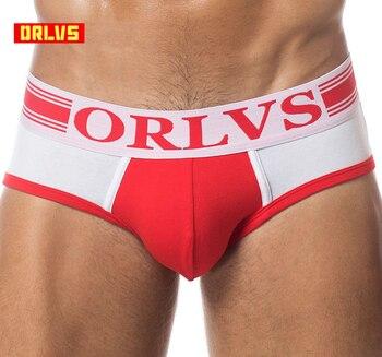 Brand Men Underwear Briefs Slip Sexy Hollow Cotton Shorts Cueca Gay Sleepwear Male panties Sexy Breathable Crotch Cotton OR688 1
