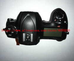 Original Top Cover Shell Case Unit for Nikon D500 with top LCD and top flex cable Camera repair part