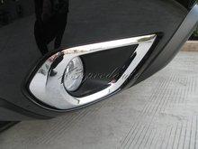Chromed ABS Plastic Front Fog Light Cover For 2013 Up Forester