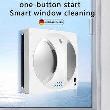 Новый интеллектуальное Стекло Очиститель уборочная машина одна кнопка старт автоматический мойщик окон