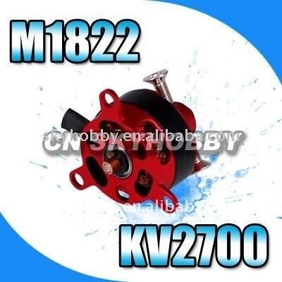 جهاز التحكم عن بعد سلسلة outrunner atn فرشات المحركات الكهربائية m1822 kv2700-1224201