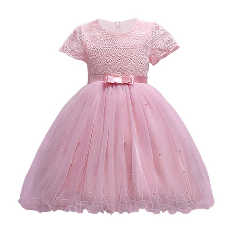 Del cordón del Bebé Vestidos niñas niños vestidos de noche para ...