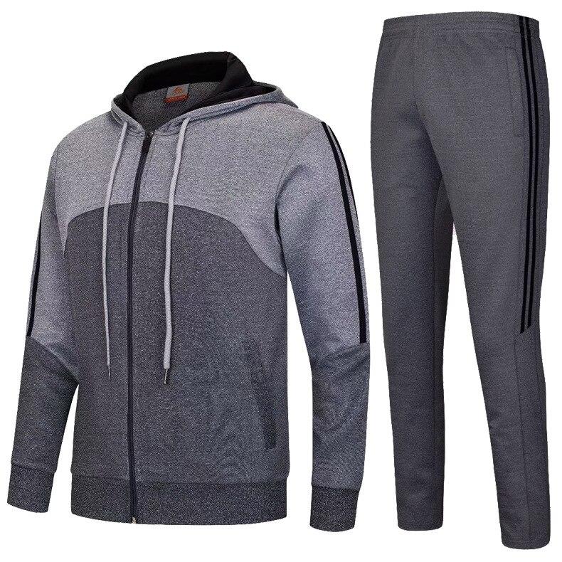 Compression hommes Sport costumes séchage rapide ensembles de course vêtements Sport Joggers entraînement Gym Fitness survêtements ensemble de course