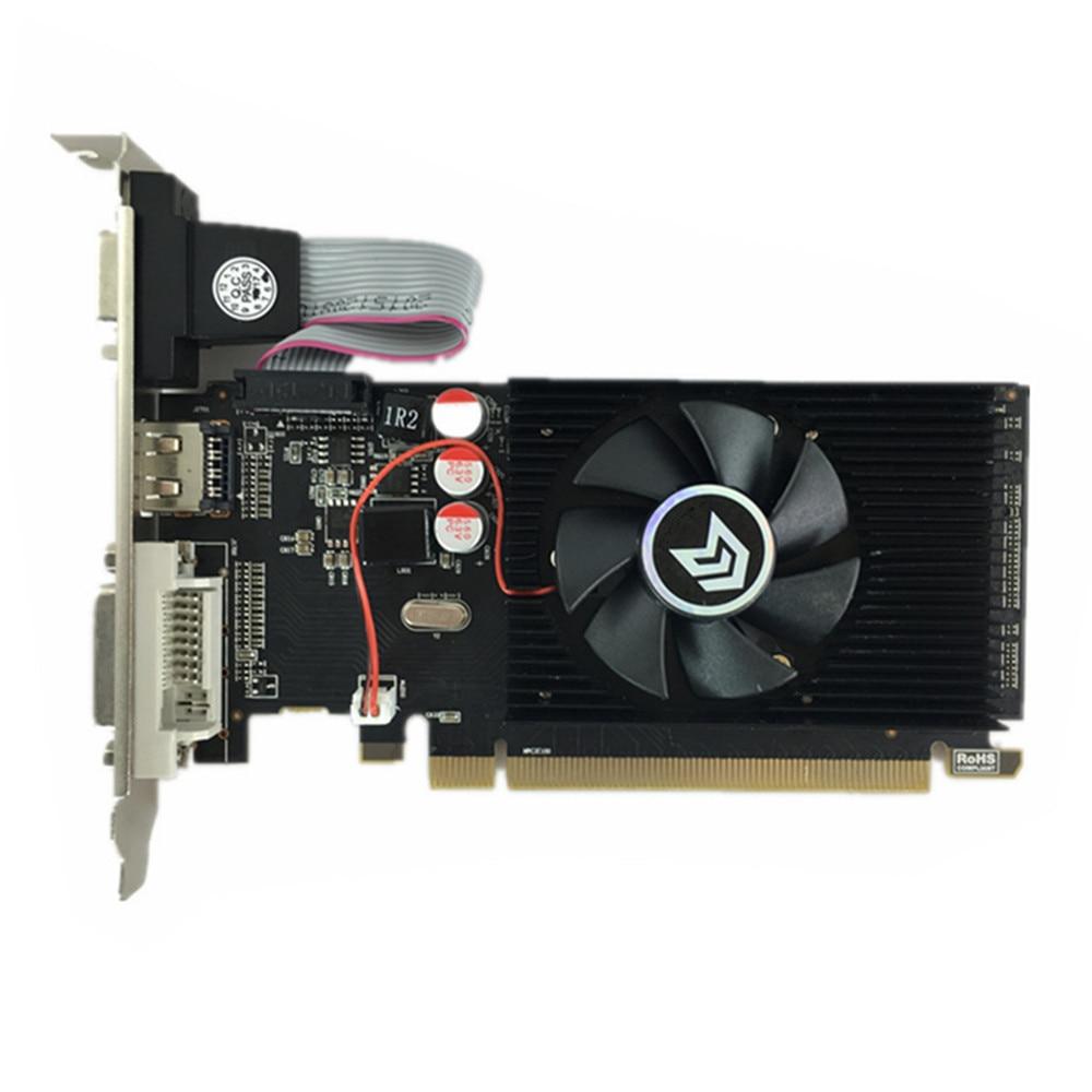 100% new original  graphics card  pci express HD7450 2GB DDR3 64bit  LP placa de video card PC  for ATI radeon  free shipping 3