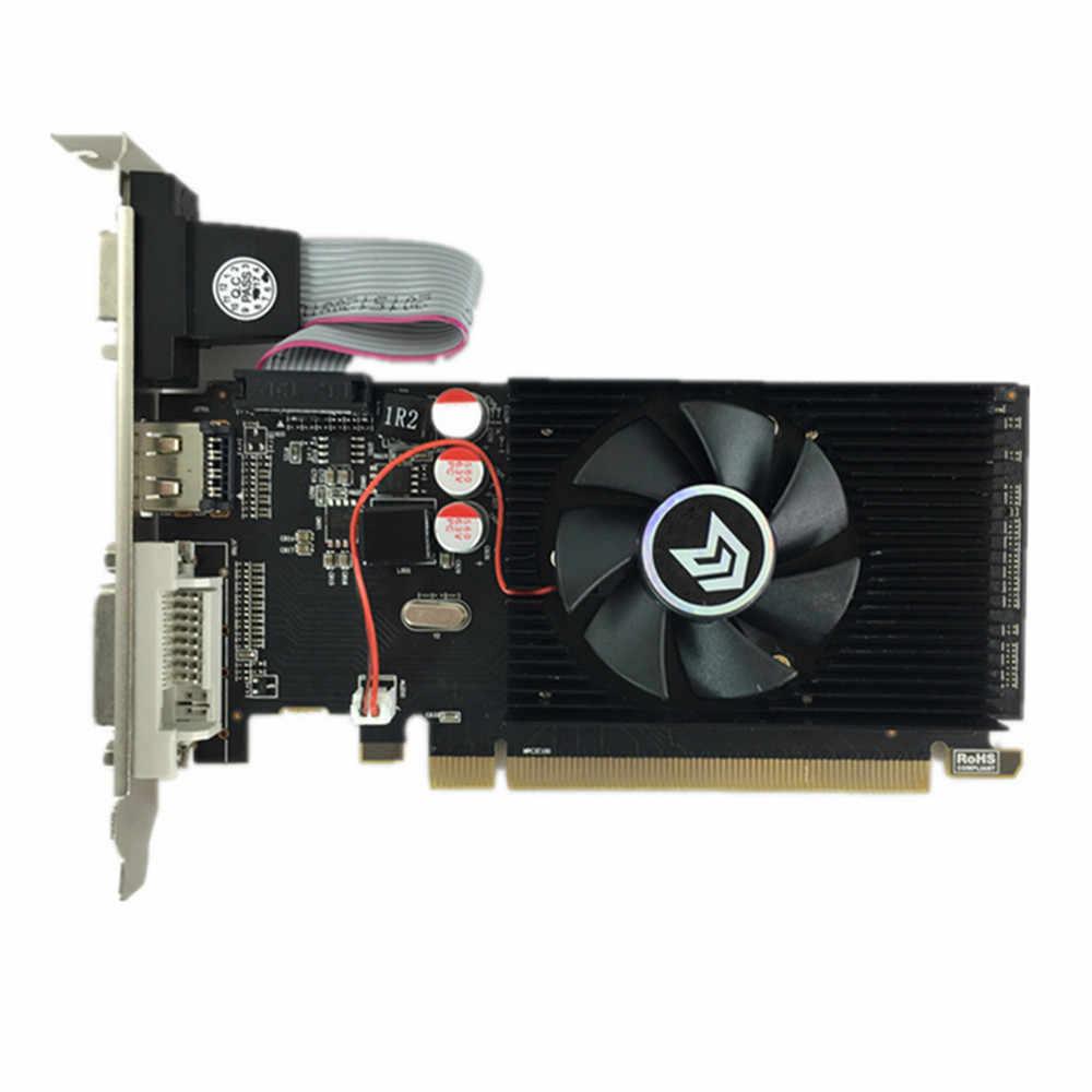 100% بطاقة جرافيكس أصلية جديدة pci express HD7450 2GB DDR3 64bit LP بلاسا دي بطاقة فيديو للكمبيوتر ATI radeon شحن مجاني