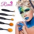 5 Pcs Pincel de Maquiagem Conjunto com Esponja de Maquiagem Liquidificador Ovo com Esponja Puff Egg Cleaner Fundação Blush Brush Kits de Beleza