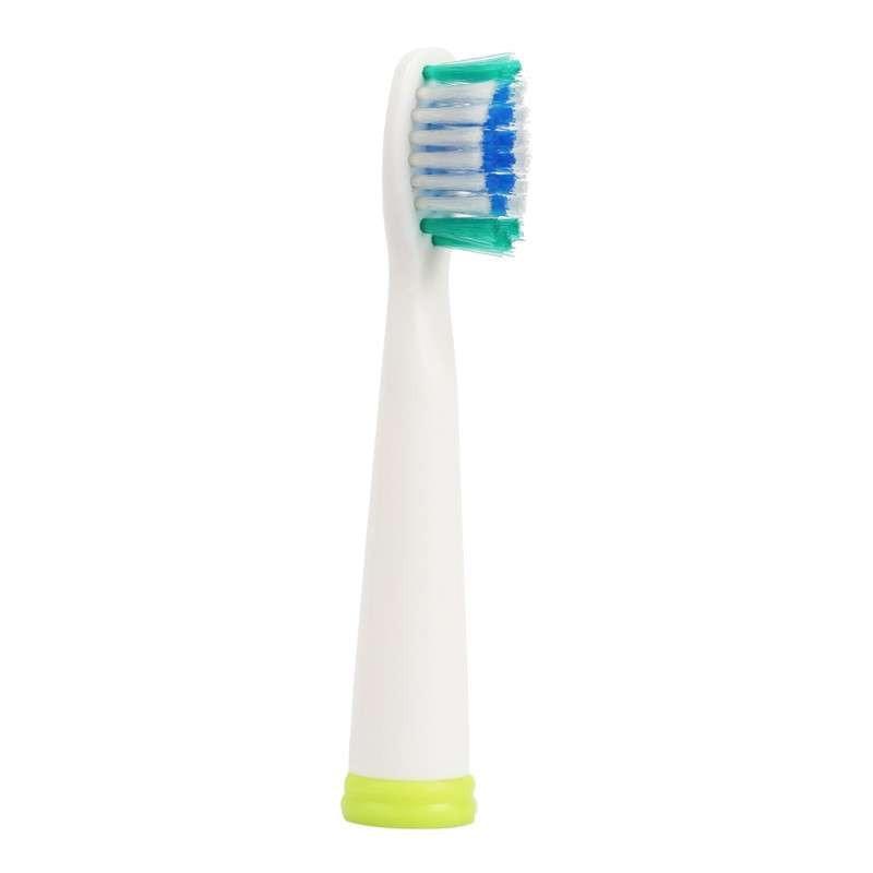 2 pcs / pack (3 pack / lot) Segao penggantian kepala sikat gigi sikat cadangan untuk SG 610 910 908 909 917 DuPont Bulu ABS Asli