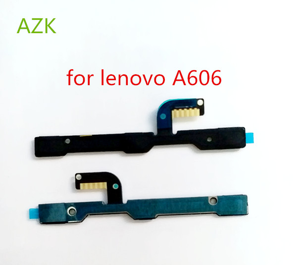 New Power on/off Button Volume Key Flex Cable FPC For Lenovo A606 Mobile phone - in Stock(China)