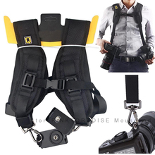 Portable adjustable nylon Camera quick Shoulder Neck Strap Belt For Cameras dslr strap Accessories Part цена и фото