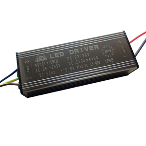 Image 1 - LED נהג 10W 20W 30W 50W 70W מתאם שנאי AC85V 265V כדי DC22 38V IP65 אספקת חשמל 300mA 600mA 900mA 1500mA 2100mA