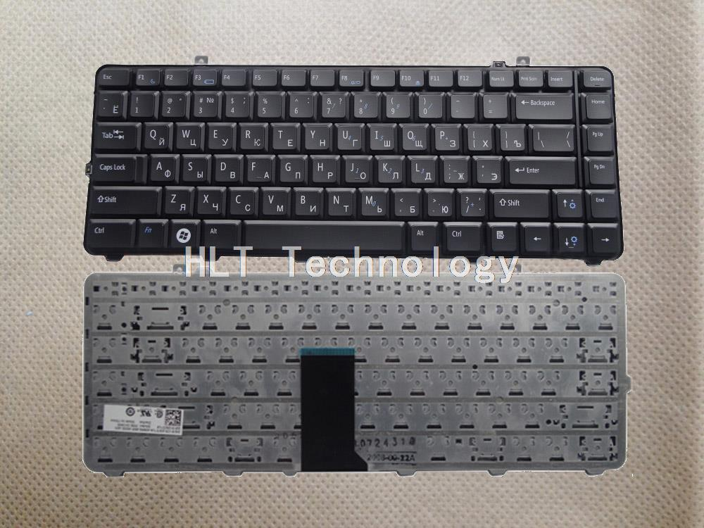 Original and New Black Russian keyboard for <font><b>DELL</b></font> 1535 D1535 1531 1536 1537 <font><b>1435</b></font> 1555 PP39L PP24L Good work! image