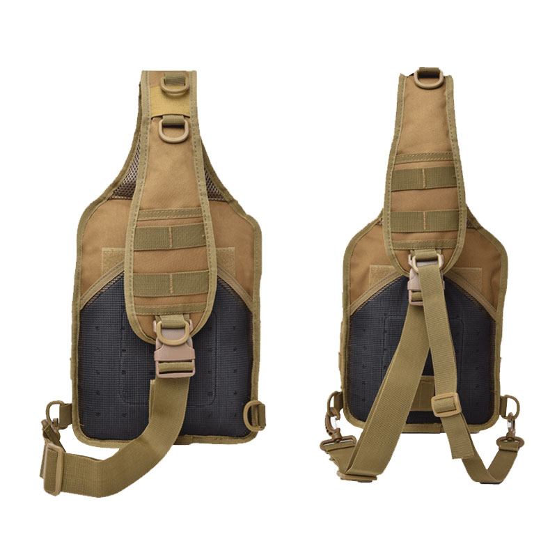 Image 3 - Tactical Chest Backpack Military Bag Hunting Fishing Bags Camping Hiking Army Hiking Backpacks Mochila Molle Shoulder Pack XA65AClimbing Bags   -