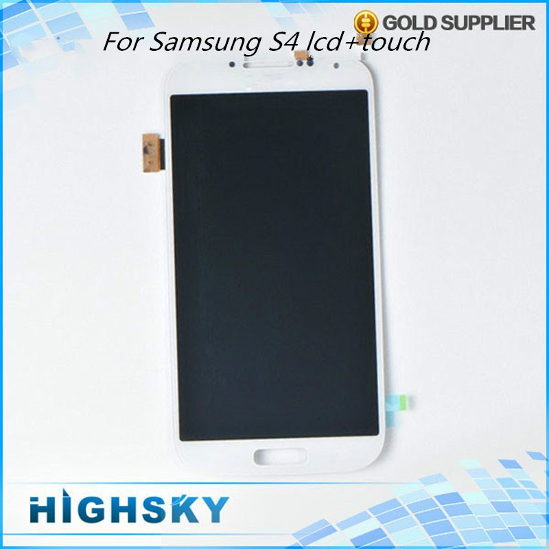 5 pcs/lot Free DHL EMS Shipping Assembly Replacement Part LCD With Touch For Samsung Galaxy S4 SIV i9500 i9505 i337 M919 i545