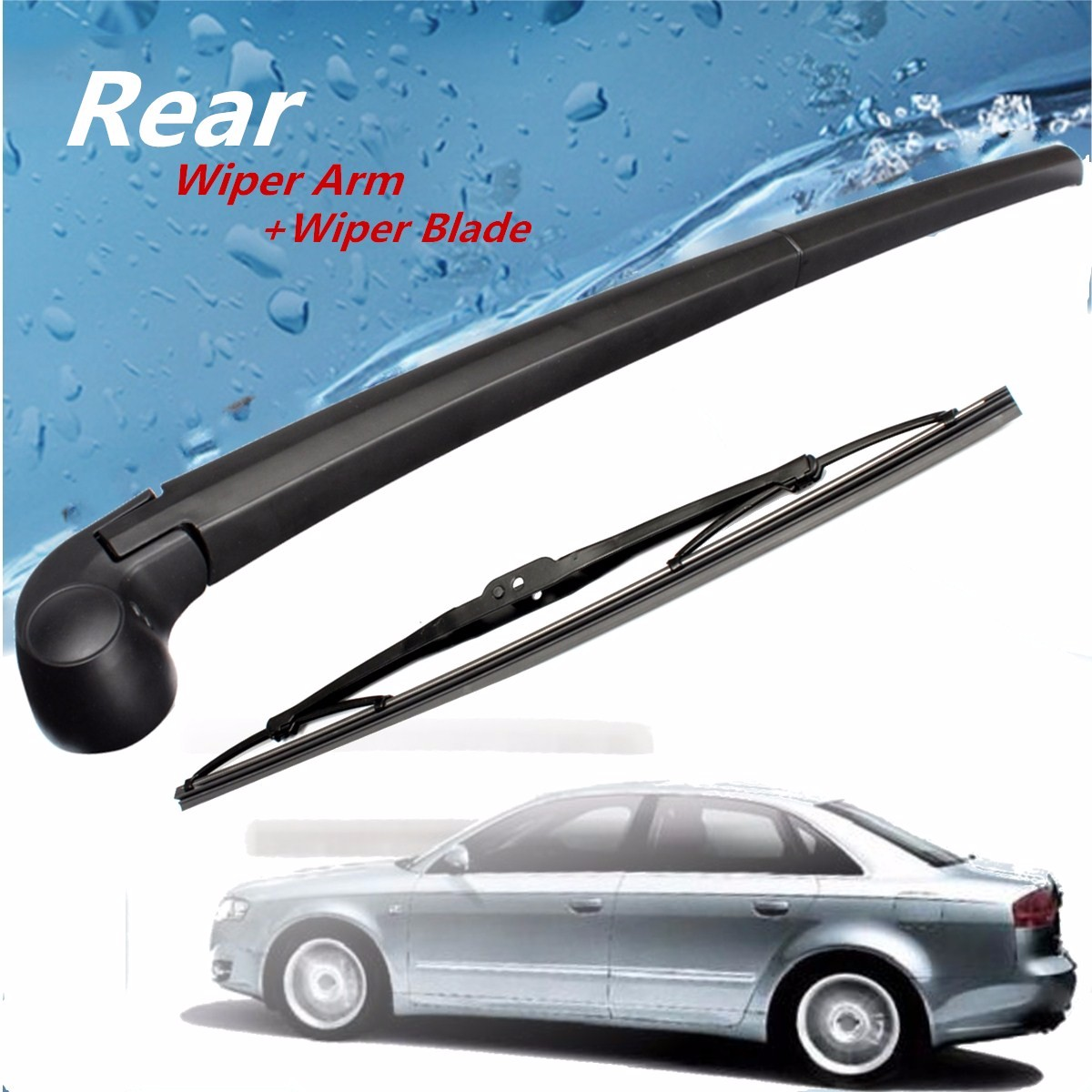 New rear window wiper arm blade for audi a4 b6 b7 avant estate 01