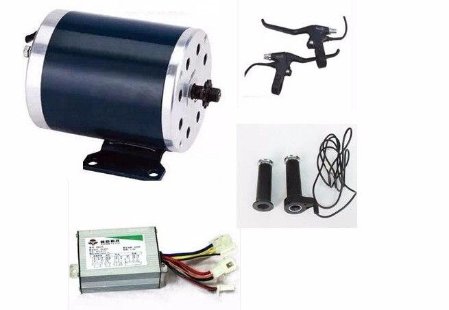 Kit de conversion de planche à roulettes électrique 36 V 48 V 1000 W kit de moteur de vélo électrique ensemble de moteur de scooter de 2 roues