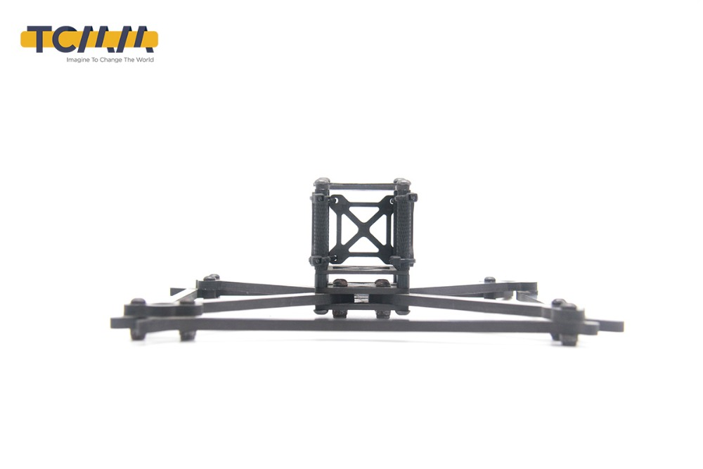 Image 4 - TCMMRC FPV Frame Kit QAV UFX Wheelbase 185mm Thickness 4mm Arm Carbon Fiber for FPV Racing Drone Quadcopter-in Parts & Accessories from Toys & Hobbies