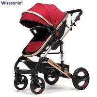 High quality Baby stroller for newborn 0 36 months