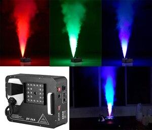Image 1 - جديد وصول 1500 واط DMX LED آلة الضباب بيرو العمودي آلة لصنع الدخان 24x9 واط المهنية مبيد لمعدات المرحلة