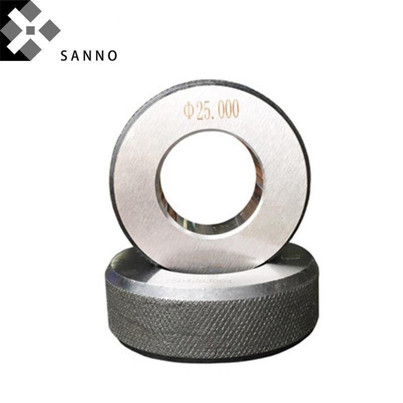 Haute précision 4mm/8mm/19mm/27mm/44mm école équipe jauge diamètre intérieur lisse anneau jauge