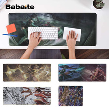 Babaite Top Quality League of legends Akali  Silicone large/small Pad to Mouse Game Free Shipping Large Keyboards Mat