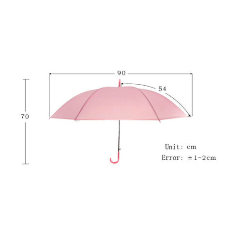 Image 3 - 2019 New Colorful Transparent Automatic Rain Umbrella Dome Wedding Party Favor Waterproof-in Umbrellas from Home & Garden