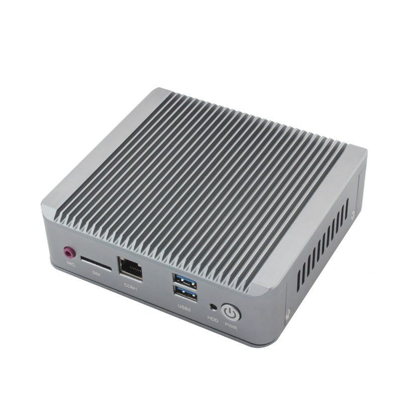 New Celeron j1900 mini pc quad core fanless pc with 1*HDMI 2*rj45 Ethernet USB3.0 Support wifi Mini Quad Core Nano PC Computer xcy mini pc j1900 dual lan industrial computer celeron quad core 2 0ghz fanless business computer with 4 usb port 2 rs232