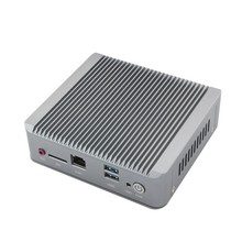Новый celeron j1900 mini pc quad core fanless pc с 1 * hdmi 2 * rj45 ethernet поддержка usb3.0 wifi мини quad core nano pc компьютер