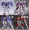 Em estoque vermelho Sete Espada METALGARMODELS GN-0000/7 S 00 MB Metal Gear Clube MC Gundam construção Metálica