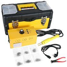 цена на TULANAUTO Hot Stapler Kit Welder Welding Machine 220V AC with 700PCS Staples for Plastic Auto Bumper Body Repair