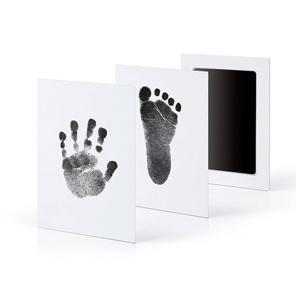 Baby Care Non-Toxic Baby Handprint Footprint Imprint Kit Casting Parent-child Hand Inkpad Fingerprint Watermark