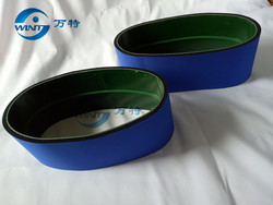 blue conveyor belt of MT-200 Round Bottle Labeler Spare parts 770*120mm size