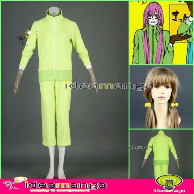 [ideamanga]Manga Amime V+ VOCALOID Matryoshka/Kamui Megurine Luka woman's Cosplay Costume Female halloween party dress Any Size