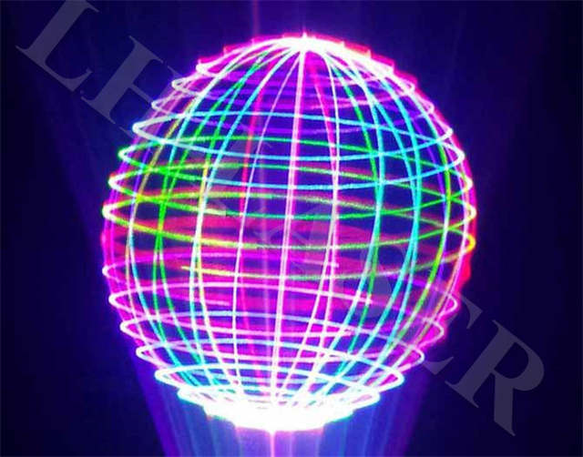 Online shop ilda and pc control laser light projector rgb colorful